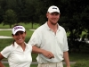 © Stella Pictures, Stockholm, Sverige,  Foto: Stefan Sˆderstrˆm/Stella Pictures    Tilde de Paula och mats Sundin spelade golf pUllna Golfbana, de deltog i Christos Masters.