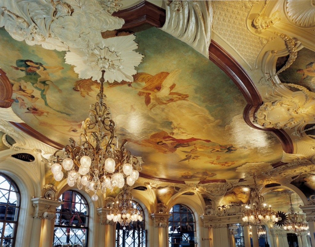 Cafe Opera Ceiling 1